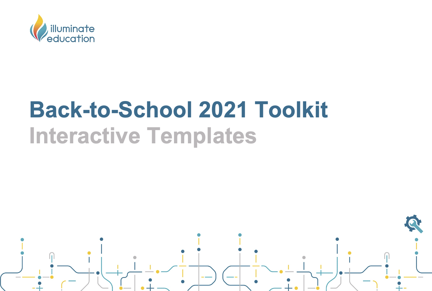 Back-to-School 2021 Toolkit Interactive Templates
